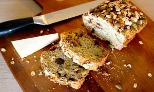 biologisch brood lekker bij wortel - gembersoep
