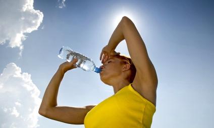 drink veel water