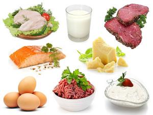 eiwitten in een maaltijdsalade
