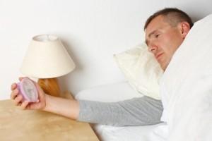 op de bank slapen door slapeloosheid