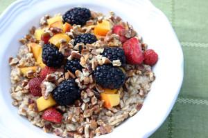 havermout ontbijt lekker divers klaargemaakt
